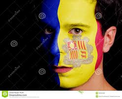 Andorra Flag Flag Of Andorra Stock Photo Image Of Nation National 36533460