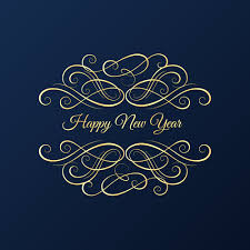 newyear card new year card with blue background vector background free
