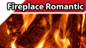 fireplace romantic 4k hd fireplaces youtube