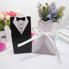wedding gift decoration and groom ribbon wedding favor small gift decoration box for