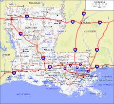 map louisiana highways interstates louisiana maps and data myonlinemapscom la maps louisiana