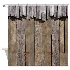 Vintage Style Shower Curtain Amazon Com Cafepress Rustic Old Barn Wood Shower Curtain