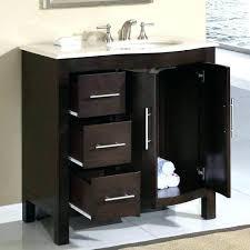 36 inch bathroom cabinet 36 bathroom vanity with drawers sillyroger com