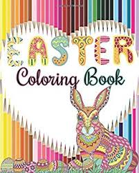 amazon coloring book easter eggs relax