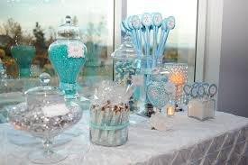 tiffany blue sweet 16 decorations blue and white sweets matched