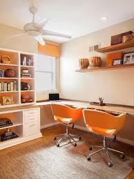 contemporary office alcove amy cuker hgtv