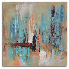pedestrian in painted canvas contemporary prints