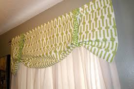 Lime Green Valances Beautiful Sew Valance Curtain 132 Easy No Sew Curtain Valance Image Of Lime Green Jpg