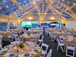 clear wedding tent tables and chairs official blue peak tents