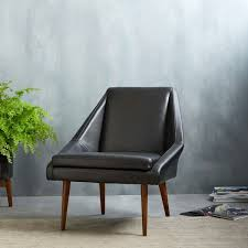 West Elm Armchair Parker Leather Slipper Chair West Elm Uk Office Design Yoyo