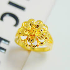 flower gold rings images Collections of cheap gold rings wedding ideas jpg