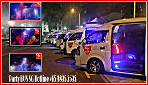 party bus party bus singapore 13 seater mobile party hotline