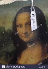 Mona Reproduction Of Mona Lisa Price Stock Photo Royalty Free Image