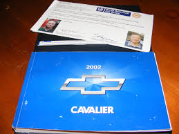 amazon com 2002 chevy chevrolet cavalier owners manual general