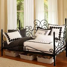 Wrought Iron Daybed Adorable Bedding For Daybeds Homesfeed
