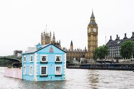 floating houses airbnb london rents floating house on river thames time