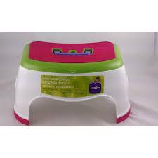 amazon com kids r us step stool pink kitchen u0026 dining