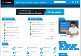 templates for blogger for software right sidebar blogger templates 2018