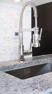 VETRAZZO COOL TITANIUM Glass Countertops From Vetrazzo - Kitchen sink titanium