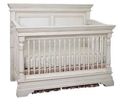 Convertible White Crib Kerrigan Convertible Crib In Rustic White Specialty Baby