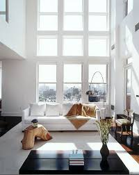 above living room in a greenwich village townhouse and the living