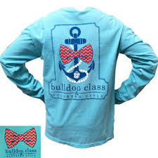 Comfort Colors Chalky Mint Georgia Bulldogs Southern Class Anchor From Simply Cute Tees