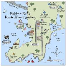 map rhode island maps newport ri hooper calligraphy