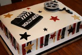 Movie Themed Cake Decorations Hollywood Prom Cake Hollywood Themed Cake For The High Sch U2026 Flickr