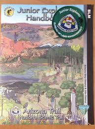 Arizona Blm Map by Arizona Trail National Scenic Trail U2013 Blm Junior Ranger Senior