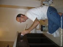 Refurbish Bathroom Vanity How To Refinish Your Bathroom Vanity Cabinets For A Fresh New Look