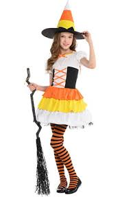 Candy Corn Costume Girls Diamond Witch Costume Party City Canada