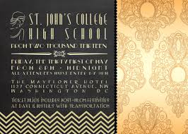 gatsby invitations great gatsby party invitations with executive st college high