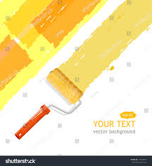 vector roller brush text stock vector 113542654 shutterstock