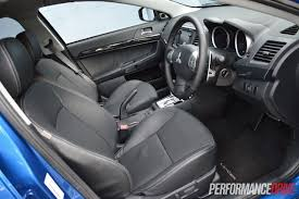 mitsubishi lancer 2015 interior 2015 mitsubishi lancer xls review video performancedrive