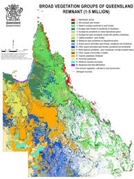 map of queensland survey and mapping ecosystems environment land and water