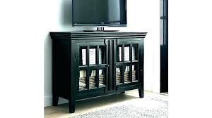 Tall Black Cabinet With Doors Media Cabinet With Doors Media