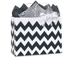 black and white striped gift bags black chevron gift bags vogue