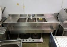 3 Bay Sink Faucet 3 Compartment Sink Ebay