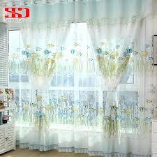 rideau pour chambre bébé rideaux pour chambre d enfant coton poissons rideaux pour chambre