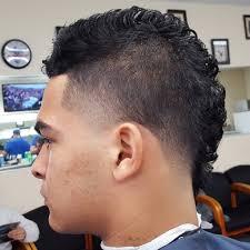 mohawk taper fade latest men haircuts
