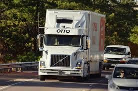2018 volvo semi truck watch an autonomous truck make a beer run all on its own motor trend