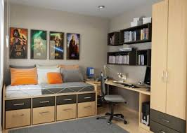 Wooden Bed Furniture Simple Bedroom Charming White Green Wood Glass Simple Design Small