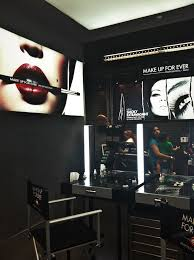 professional makeup station make up for grand opening at the garden state plaza nj