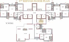 West Wing Floor Plan Sangam The Luxor In Goregaon West Mumbai Price Location Map