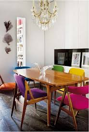 Dining Chair Ideas Colored Dining Chairs Home Imageneitor