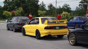 mitsubishi gsr 1 8 turbo drag t malim gsr forum youtube