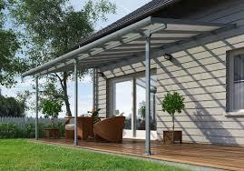 Veranda Patio Cover 10 U0027 X 28 U0027 Feria 4200 Patio Cover Canopy W Polycarbonate Panels