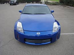 Nissan 350z Blue - 2007 nissan 350z red coupe 551166