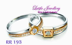 cin cin nikah cincin tunangan rr193 bahan emas perak palladium platina jogja