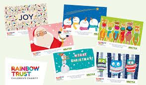 corporate ecards rainbow trust children s charity